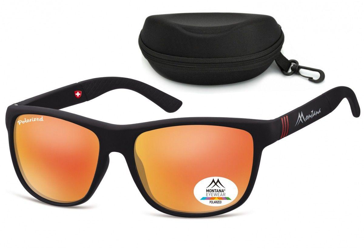 Okulary Nerdy Montana polaryzacyjne lustrzane MS312C