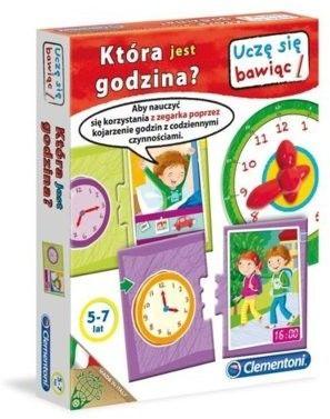 Clementoni - Gra edukacyjna Która jest godzina 60046