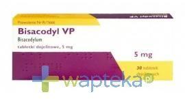 Bisacodyl 5mg 30 tabletek