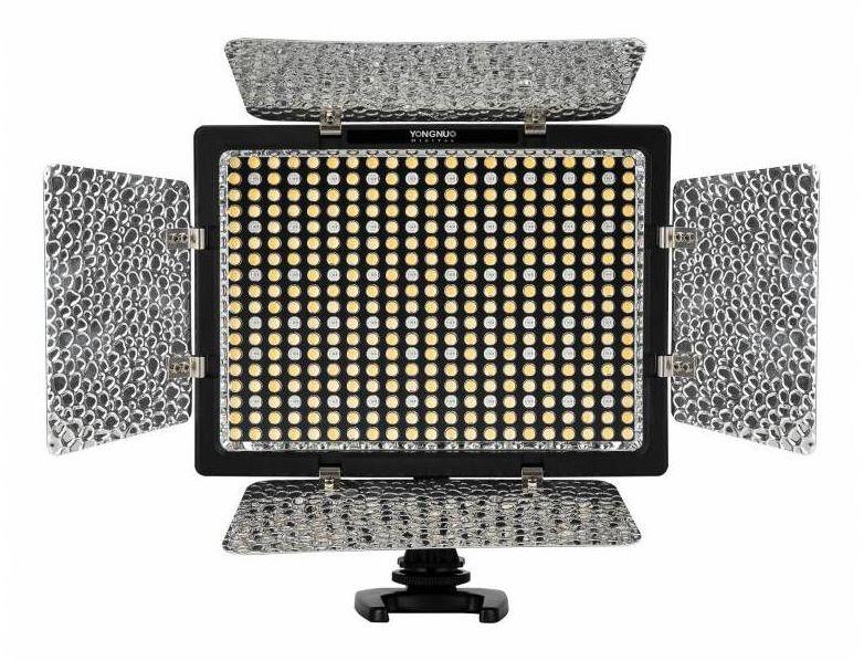 Yongnuo YN300 IV - lampa diodowa LED, RGB, 3200-5500K, 24W