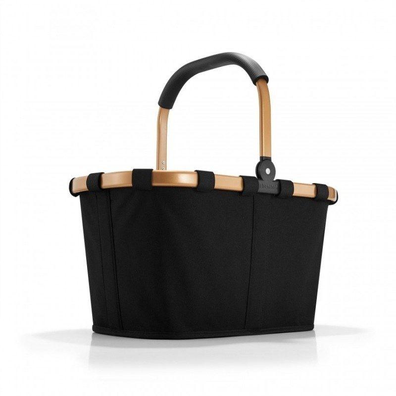 Reisenthel - koszyk na zakupy carrybag - frame gold/black