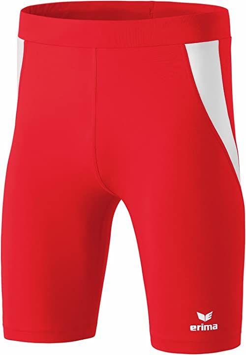 Erima Unisex dziecięce buty Athletic Tight krótkie czerwony czerwony/biały 164