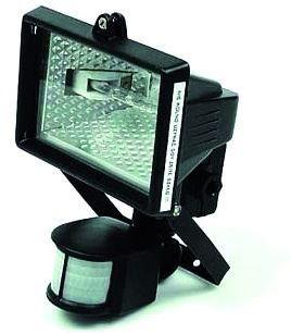 Reflektor halogenowy 500W+sensor ruchu (HFS-500W)