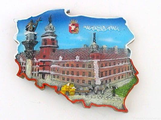 Magnes kontur Warszawa Zamek