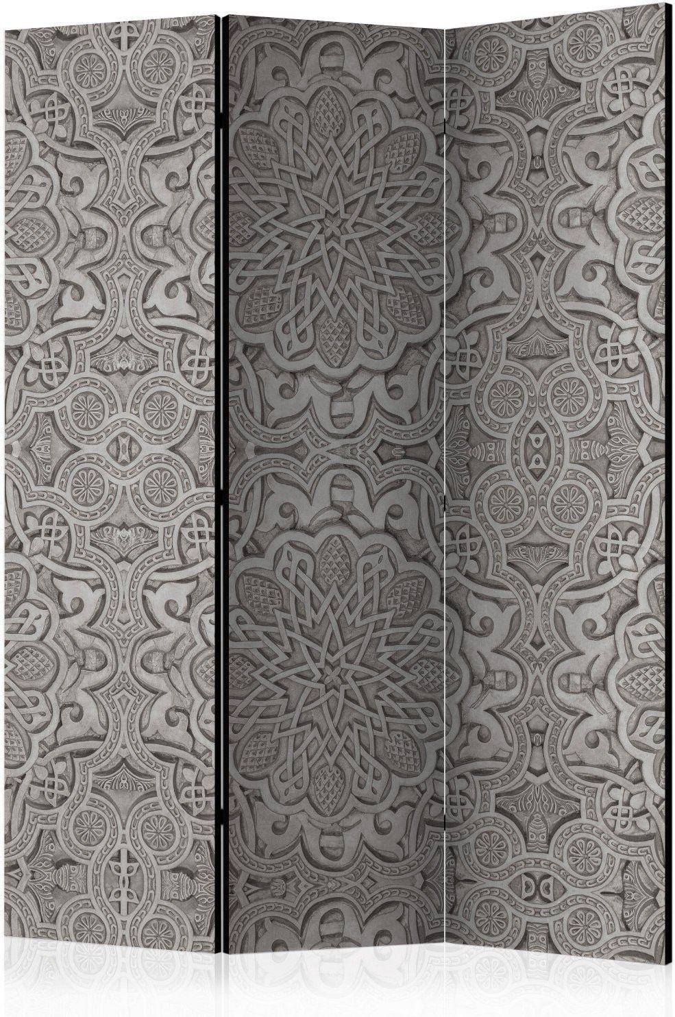 Parawan 3-częściowy - orientalny ornament [room dividers]