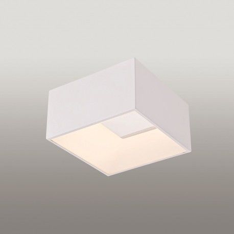 PUZZLE 5656-1 WHITE 23X23 POWER LED 18W PLAFON