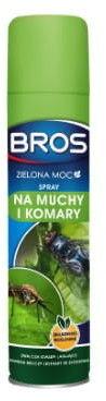 Spray na muchy i komary Bros Zielona Moc 300 ml