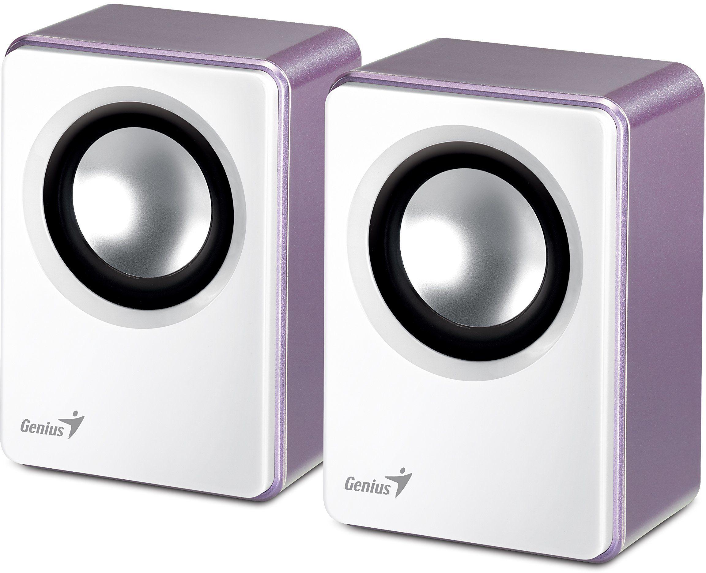 Genius Aktywne pudełko GENIUS SP-Q120 głośnik PC fioletowy/biały