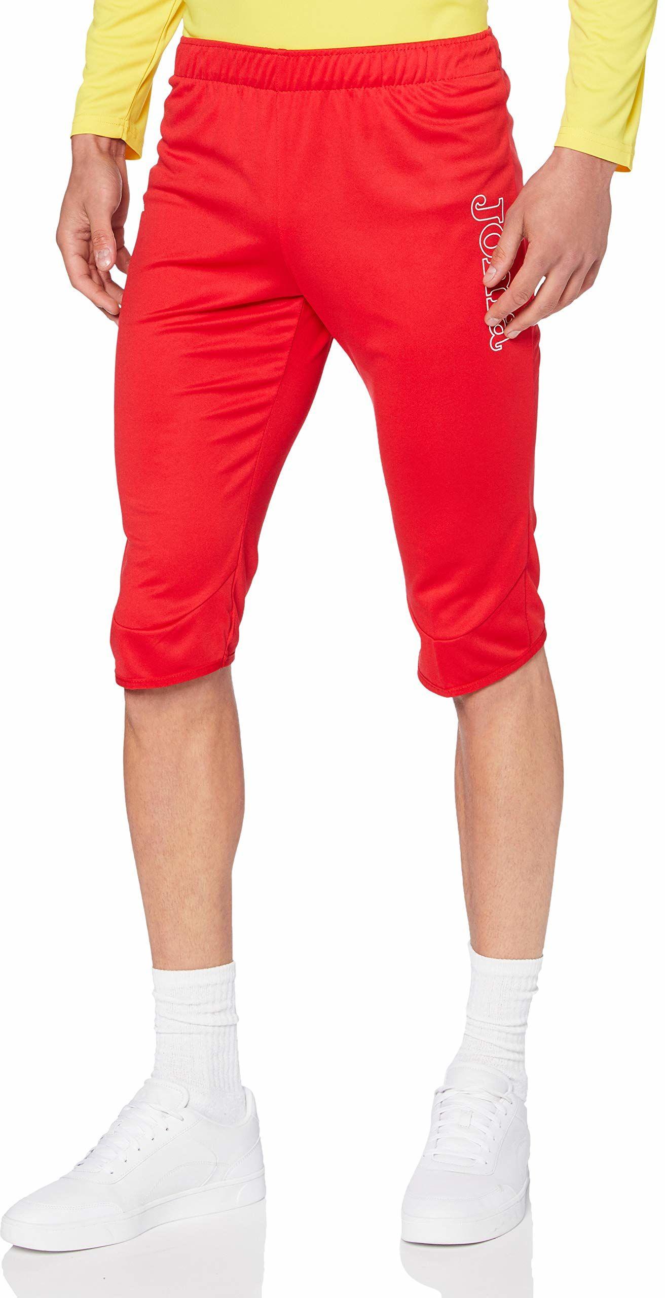 Joma COMBI Vela 3/4 Pirate Unisex  spodnie treningowe dla dorosłych, kolor czerwony czerwony Rot - 600 X-L