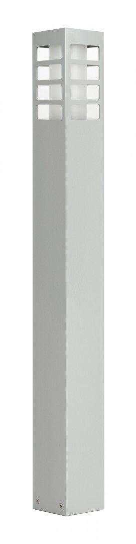 Lampa stojąca ogrodowa RADO III 1 AL Srebrny IP54 - Su-ma Do -17% rabatu w koszyku i darmowa dostawa od 299zł !