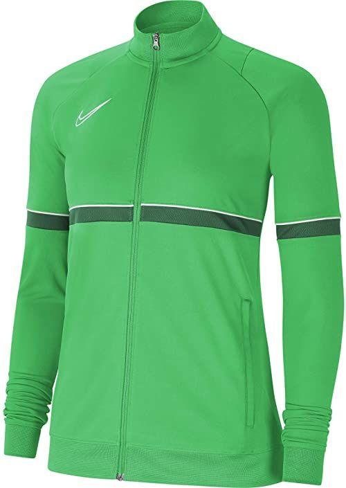 Nike Damska kurtka damska Academy 21 Track Jacket Lt Green Spark/White/sosnowe zielone/białe L
