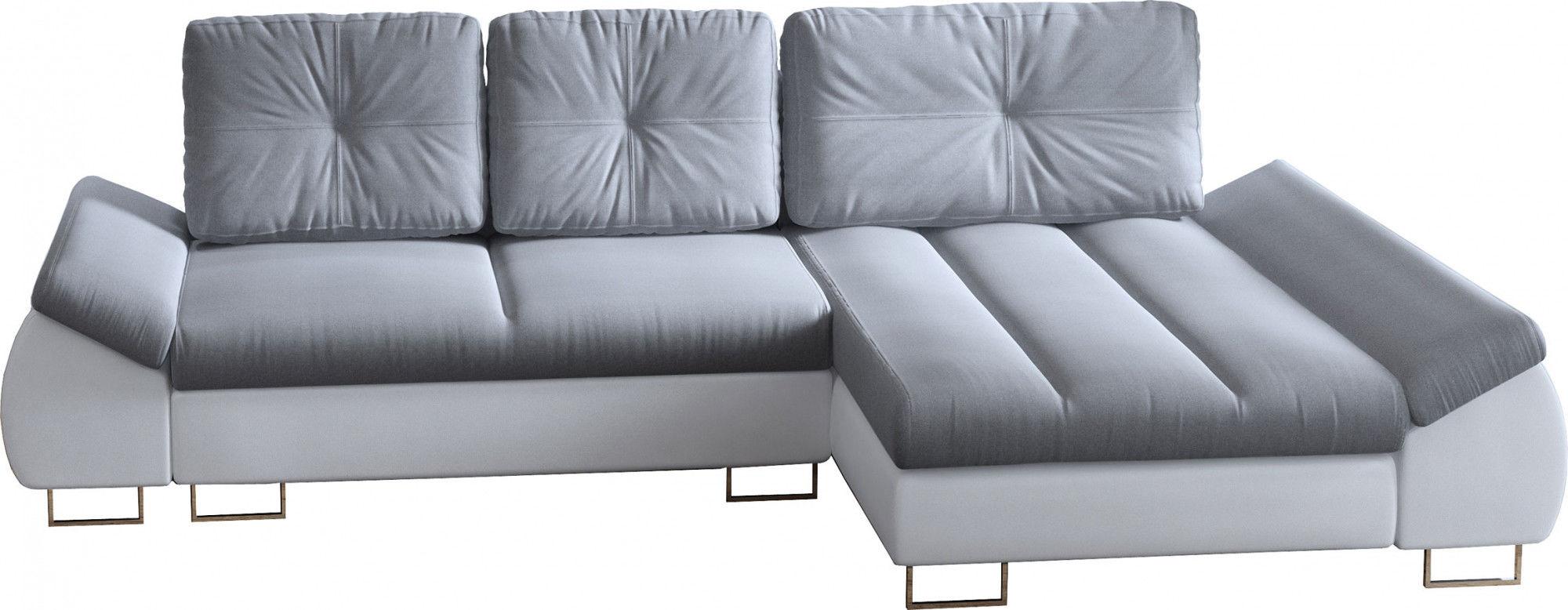 Rozkładana kanapa narożna - Epilos 45 kolorów