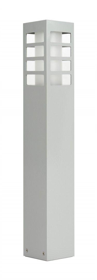 Lampa stojąca ogrodowa RADO III 2 AL Srebrny IP54 - Su-ma Do -17% rabatu w koszyku i darmowa dostawa od 299zł !