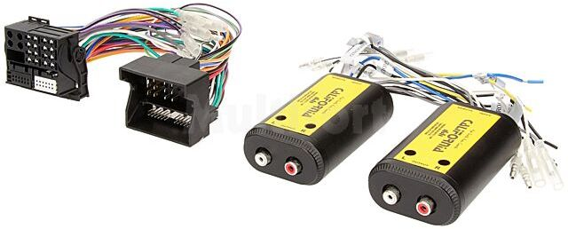 Adapter Quadlock 4 kanały audio plus Remote