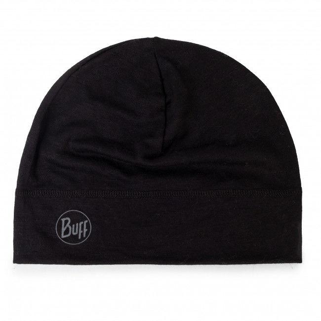 Czapka BUFF - Lightweight Mering Wool Hat 113013.999.10.00 Solid Black