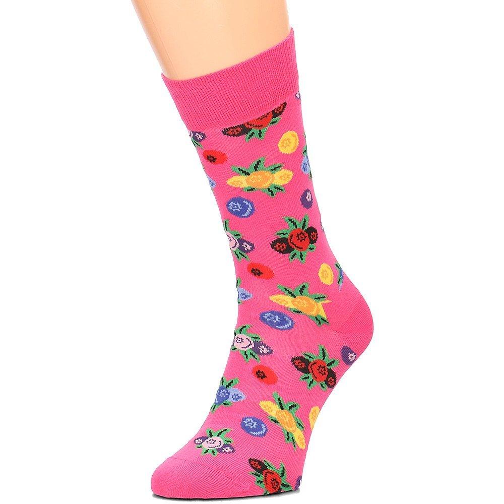 Happy Socks - Skarpety Unisex - BER01-3000 - Różowy