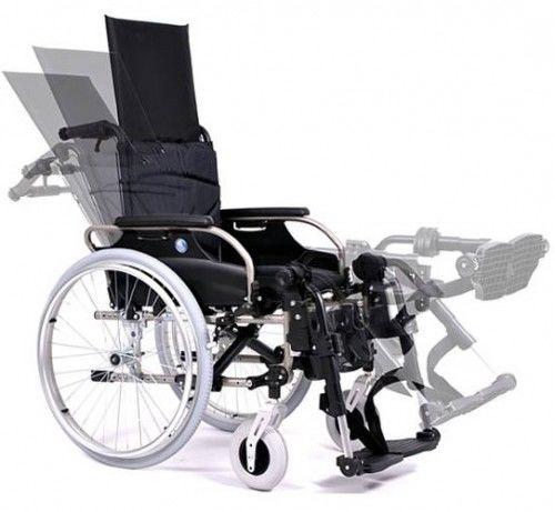 Vermeiren Wózek inwalidzki leżakowy aluminiowy V300 30