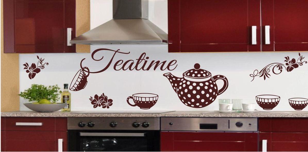 Naklejka do kuchni Teatime
