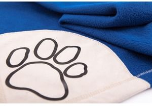 Koc dla psa Reedog Blue Paw