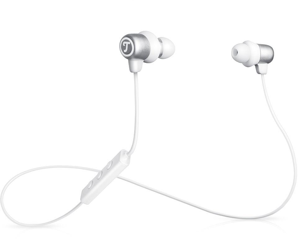 Teufel MOVE BT, białe słuchawki douszne Bluetooth
