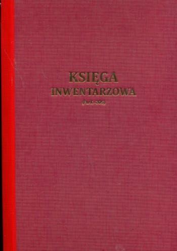 Księga inwentarzowa [Pu/K-205]