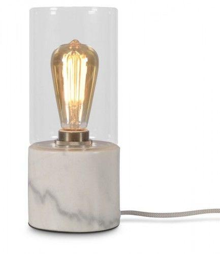 Lampa stołowa Athens biała