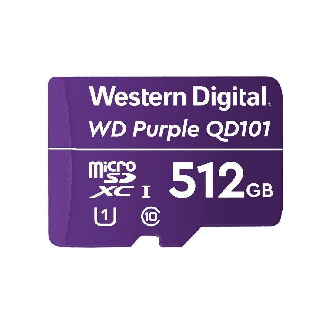 Karta pamięci WD Purple SC QD101 Ultra Endurance 512GB MicroSDXC UHS-1 U1