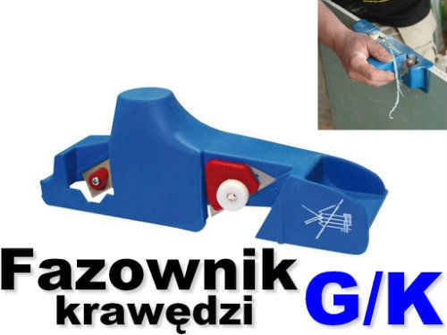 Strug do obrabiania krawędzi płyt G/K MODECO MN-66-800