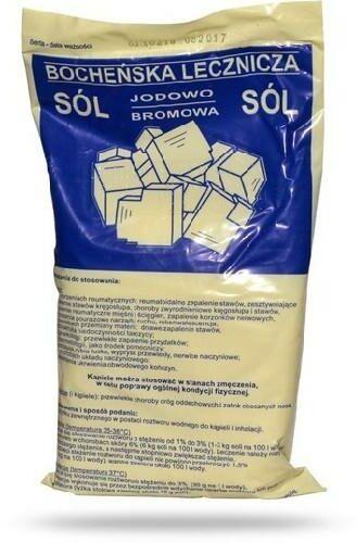 Sól Bocheńska lecznicza jodowo-bromowa 1 kg