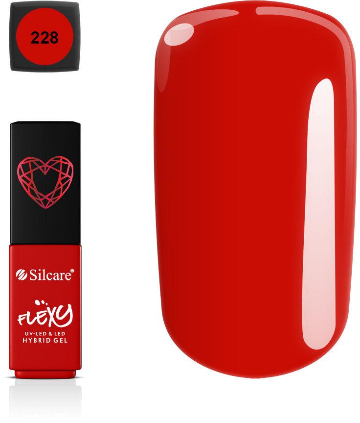 Flexy Lakiery Hybrydowe - Ruby Heart *228 4.5 g