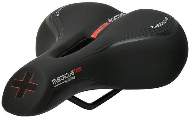 WITTKOP Siodełko rowerowe Trekking / Cross / City MEDICUS TWIN 2.0 WT-999051202,4260005120202