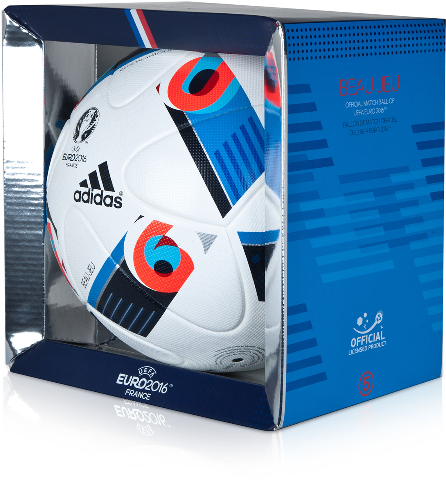 PIŁKA BEAU JEU EURO 2016 OFFICIAL MATCH BALL (ADIDAS) 18604