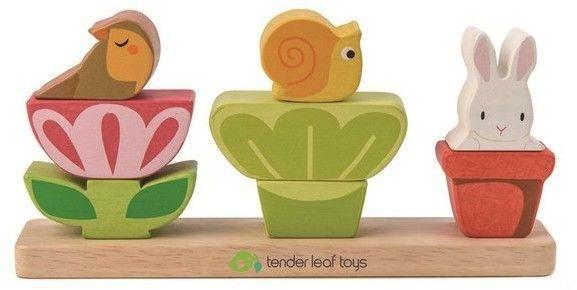tender leaf toys - Drewniana Układanka - Ogród, Tender Leaf Toys