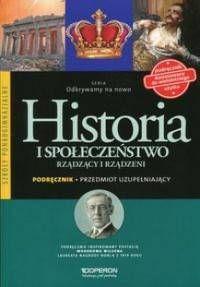 Historia i społeczeństwo rządzący i rządzeni podręcznik