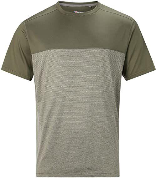 Berghaus damski Voyager podstawowy t-shirt z krótkim rękawem, bluszcz zielony, XS