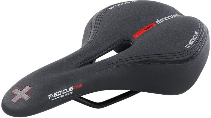 WITTKOP Siodełko rowerowe MTB SPORT MEDICUS TWIN 4.0 WT-9991312002,4260629691058