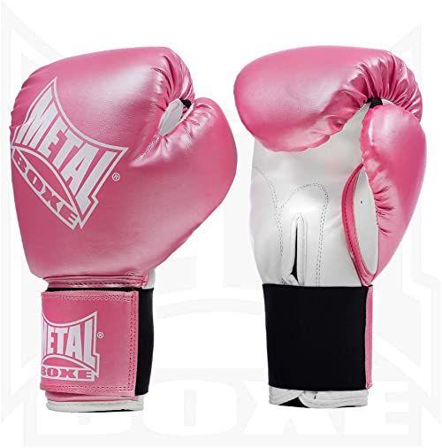 Metal Boxe rękawice bokserskie, różowe (różowe), 4 oz
