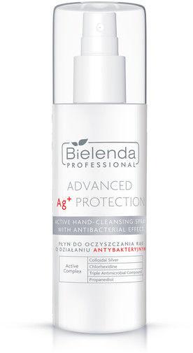 Bielenda Advanced Ag+ Protection Płyn Do Oczyszczania Rąk o Właściwościach Antybakteryjnych 150ml
