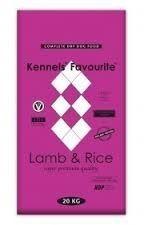 KENNELs Favourite Lamb & Rice 20kg + GRATIS