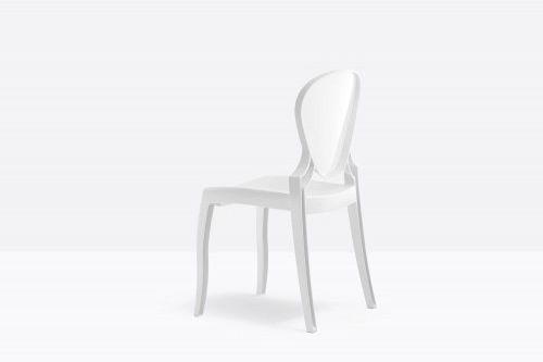 Pedrali Krzesło Queen 650 BI Biały