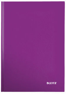 Brulion Esselte Kratka A4 80 Kartek LEITZ WOW Fioletowy /46261062/