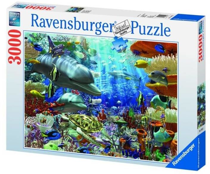 Puzzle 3000 Podwodne życie - Ravensburger