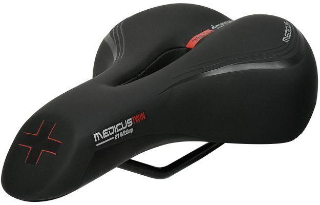 WITTKOP Siodełko rowerowe Trekking / Cross MEDICUS TWIN 1.0 WT-999051201,4260005120103