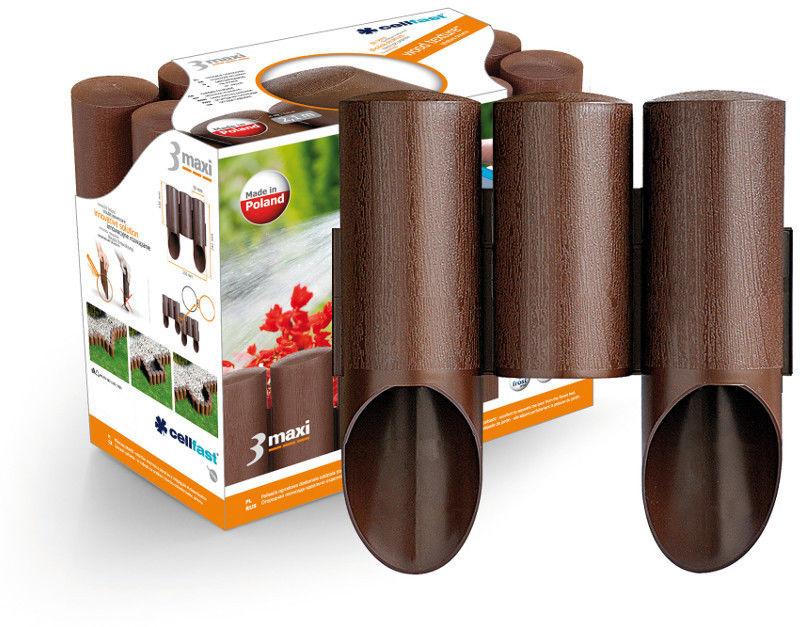 Palisada ogrodowa Cellfast Maxi brązowa