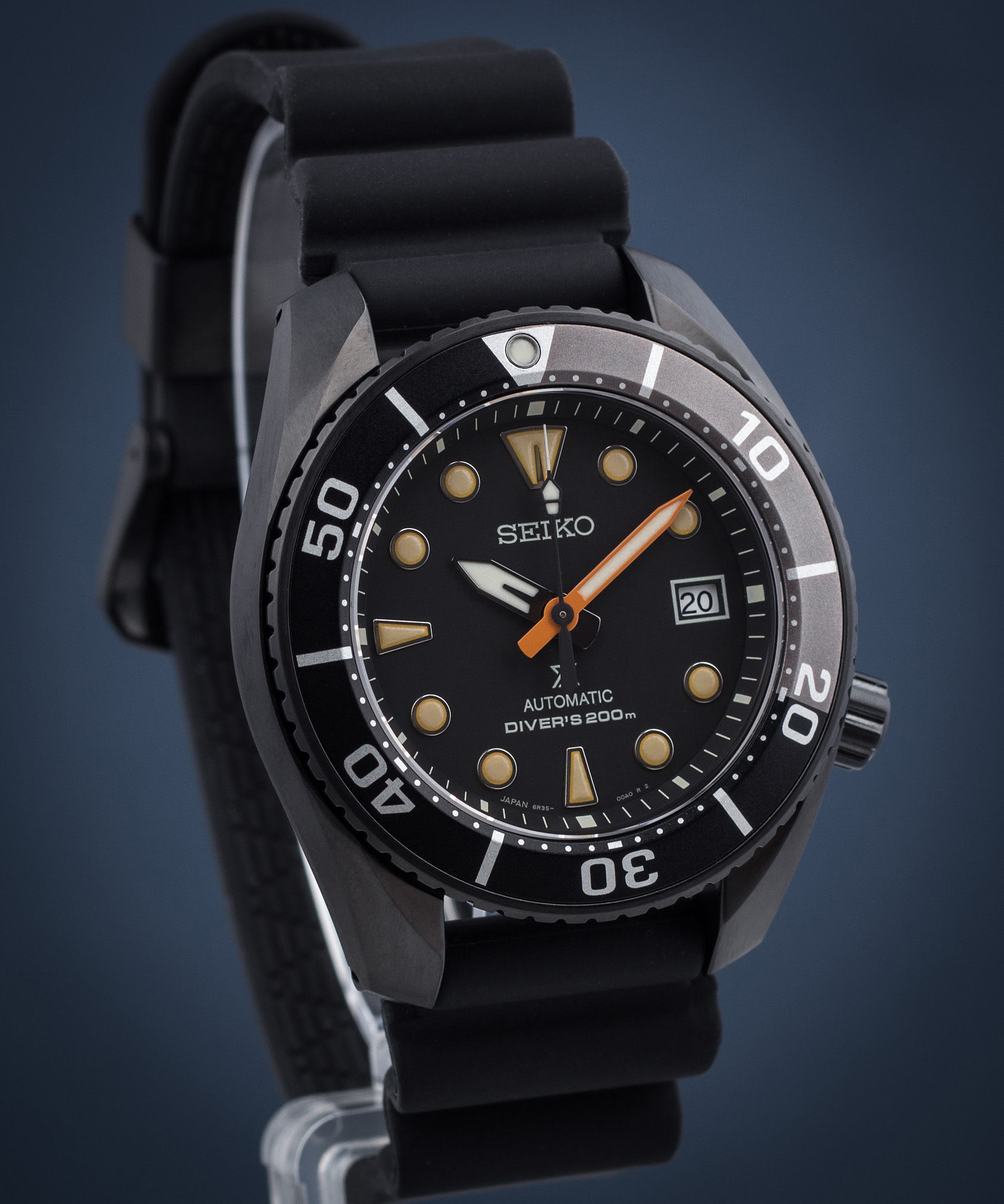Zegarek męski Seiko Prospex The Black Series Sumo Diver Automatic Limited Edition