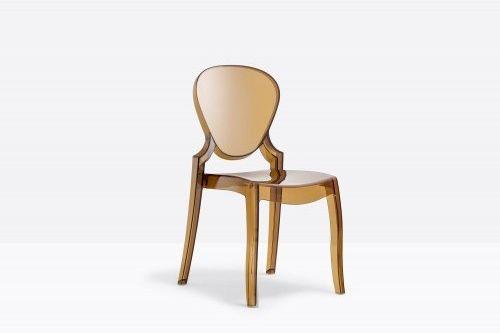 Pedrali Krzesło Queen 650 AM Bursztynowy