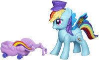 Hasbro My Litte Pony - Latające kucyki Rainbow Dash z tęczowymi skrzydełkami A6240 A5934