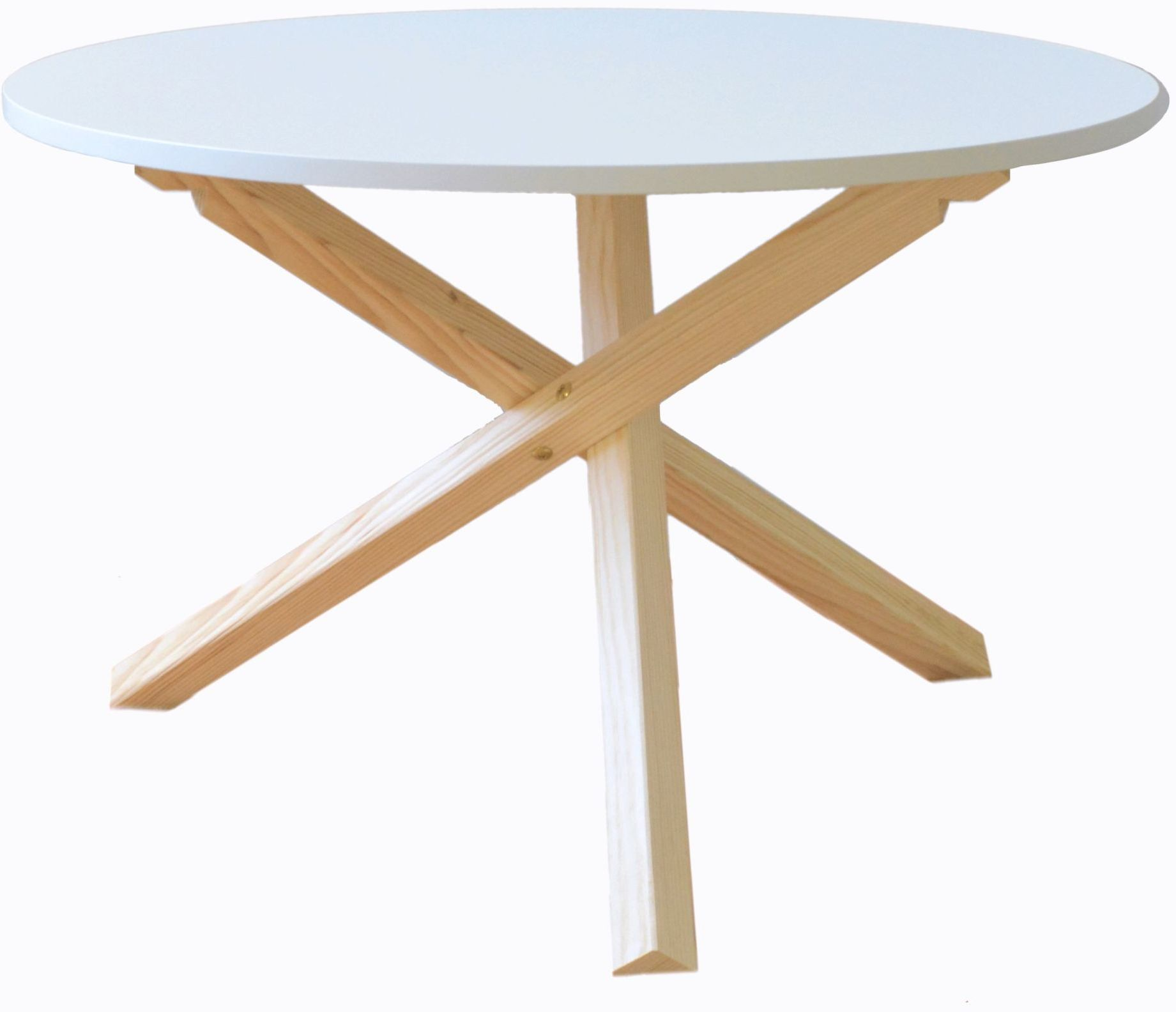 Skandynawski stolik kawowy / ława Triple-68