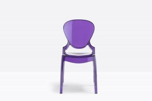 Pedrali Krzesło Queen 650 VL Fioletowy