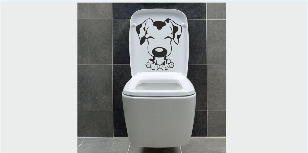 Naklejka do łazienki Dalmatyńczyk